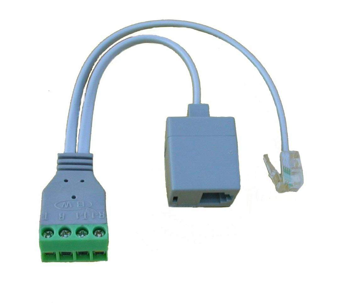 Wiring A Phone Jack For 2 Lines Above We See Standard Telephone Line Interface Showing Several Sets Of Wires Providing Dial Tone To Various Parts Home Or Business